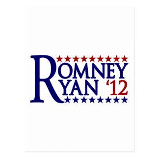 Cartão Postal Mitt Romney Paul Ryan
