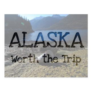 Cartão Postal Modelo de Shell do mexilhão; Lembrança de Alaska