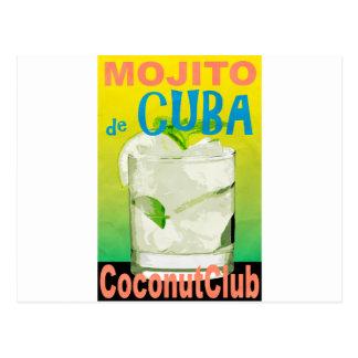 Cartão Postal Mojito De Cuba