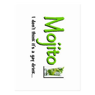 Cartão Postal Mojito: Não uma bebida alegre…?