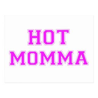 Cartão Postal Momma quente