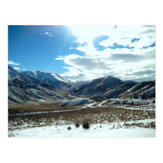 Cartão Postal Montanhas de brilho