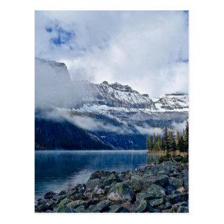 Cartão Postal Montanhas nevado cénicos