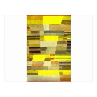 Cartão Postal Monumento por Paul Klee