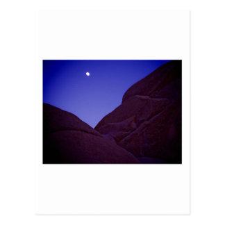 Cartão Postal Moonrise da árvore de Joshua