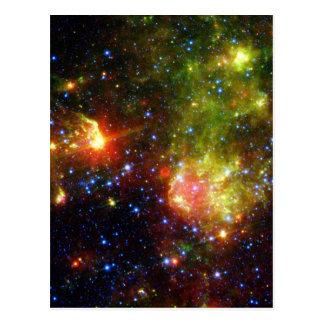 Cartão Postal Morte empoeirada da NASA maciça da estrela