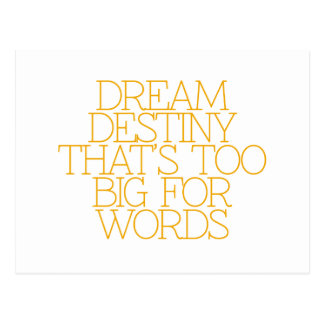 Cartão Postal Motivação, inspiração, palavras da sabedoria.