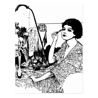 Cartão Postal Mulher do vampiro