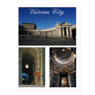 Cartão Postal Multi-vista da Cidade do Vaticano