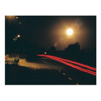 Cartão Postal Na noite