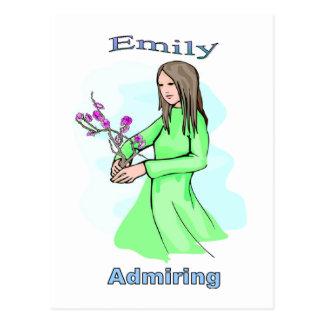 Cartão Postal Names&Meanings - Emily