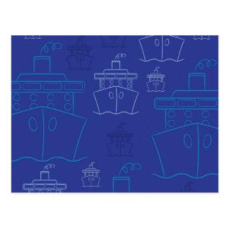 Cartão Postal Navio de cruzeiros
