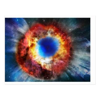Cartão Postal Nebulosa da hélice