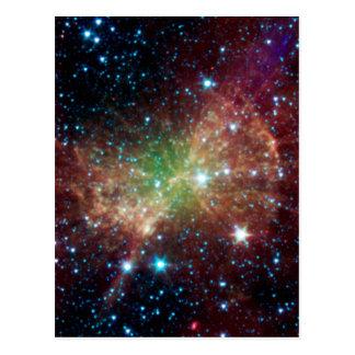 Cartão Postal Nebulosa do Dumbbell