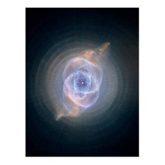Cartão Postal Nebulosa do olho de gato