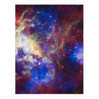 Cartão Postal Nebulosa do Tarantula