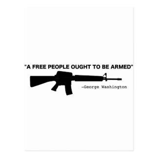 Cartão Postal Nenhum controlo de armas