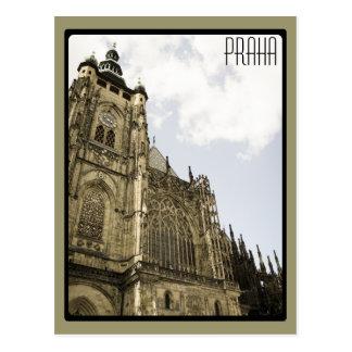 Cartão Postal No castelo de Praga