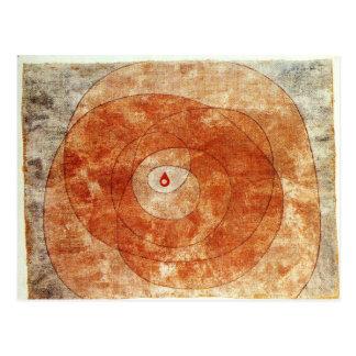 Cartão Postal No núcleo por Paul Klee
