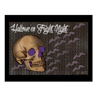 Cartão Postal Noite do susto do Dia das Bruxas