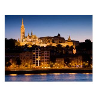 Cartão Postal Noite em Budapest