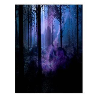 Cartão Postal Noite místico