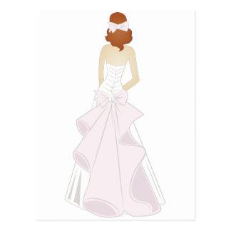 Cartão Postal Noiva