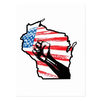 Cartão Postal Nós somos Wisconsin