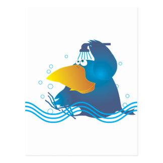 Cartão Postal O banho de AnimArArA