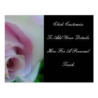 Cartão Postal O casamento do Lilac aumentou