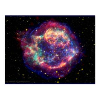 Cartão Postal O Cassiopeia uma morte do Supernova… assenta bem