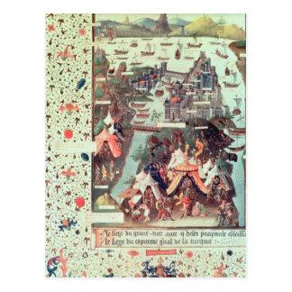 Cartão Postal O cerco de Constantinople