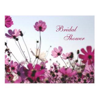 Cartão Postal O chá fúcsia da camomila convida (customizável)
