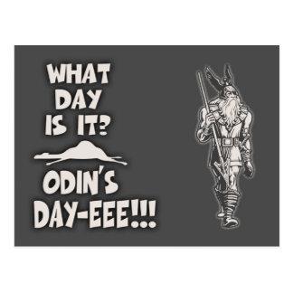 Cartão Postal O dia de Odin