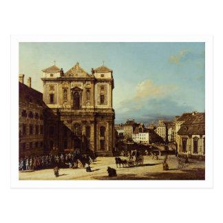 Cartão Postal O Freyung em Viena, vista do noroeste, C.