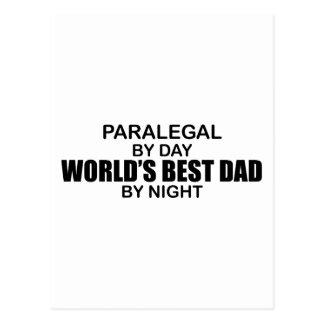 Cartão Postal O melhor pai do mundo - Paralegal