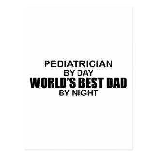 Cartão Postal O melhor pai do mundo - pediatra
