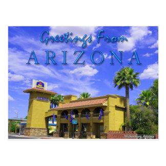 Cartão Postal O melhor Rancho ocidental grandioso