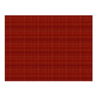 Cartão Postal O MODELO vermelho elegante adiciona o cumprimento