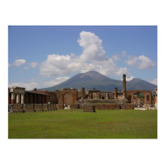 Cartão Postal O Monte Vesúvio, Pompeii