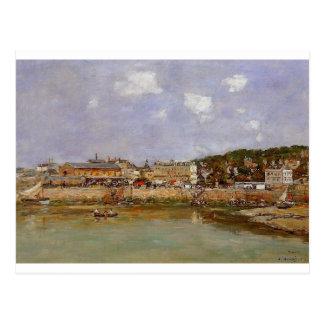 Cartão Postal O porto de Trouville, o mercado…