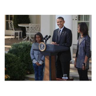 Cartão Postal O presidente Barack Obama pardons