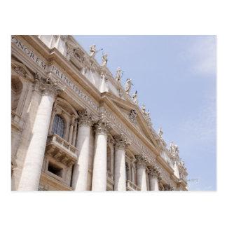 Cartão Postal O quadrado de St Peter, Cidade do Vaticano, Roma,
