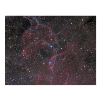 Cartão Postal O resto do Supernova dos Vela