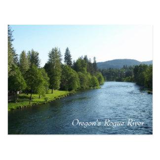 Cartão Postal O rio desonesto de Oregon