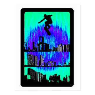 Cartão Postal O sacudir do salto