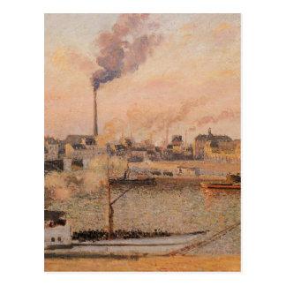 Cartão Postal O santo separa, manhã de Rouen, cinco horas