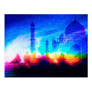 Cartão Postal O Taj Mahal