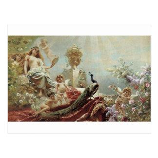 Cartão Postal O toalete de Venus por Konstantin Makovsky