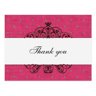 Cartão Postal Obrigado